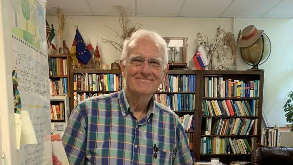A headshot of Bob Patterson